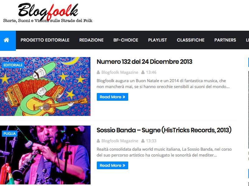 BLOGFOOLK: Recensione Sossio Banda