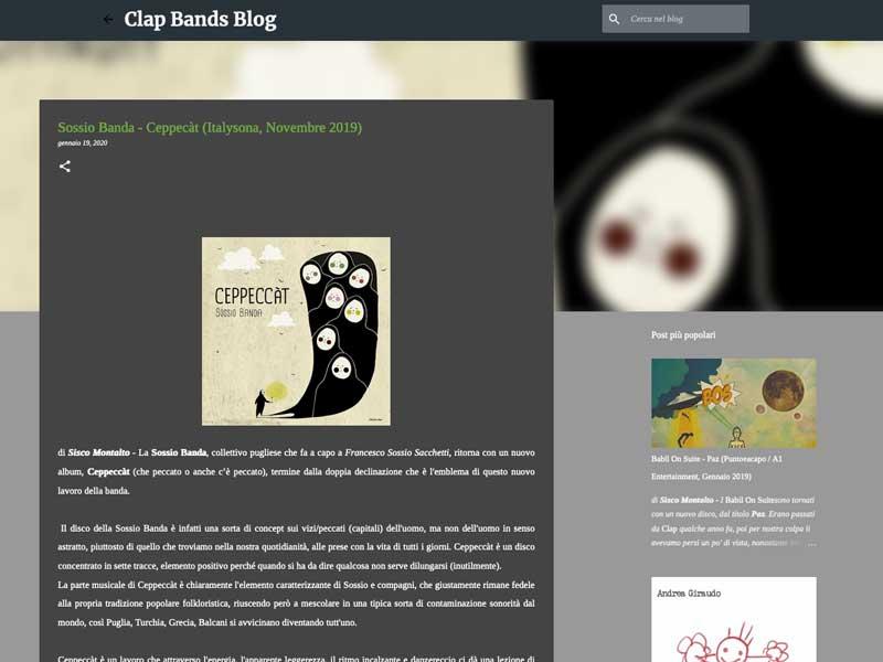 CLAP BANDS BLOG: Sossio Banda – Ceppeccàt