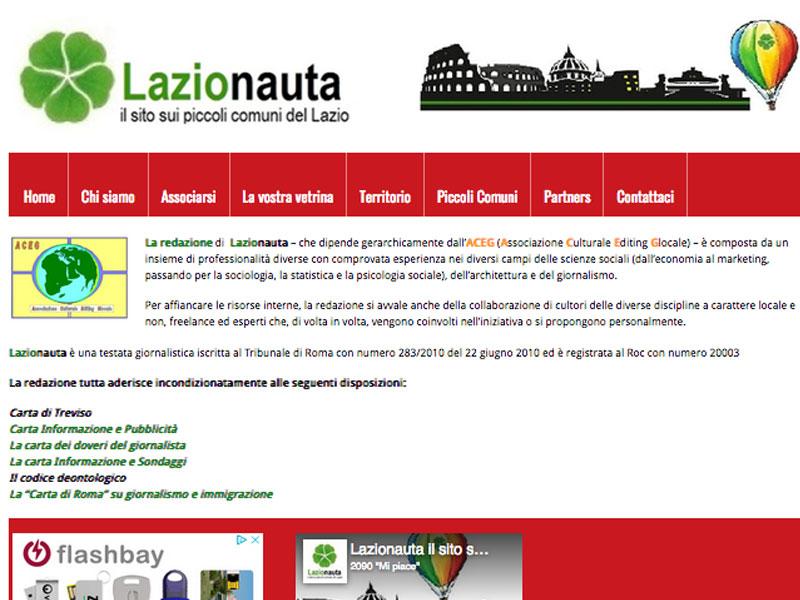LAZIONAUTA: Sossio Banda al debutto